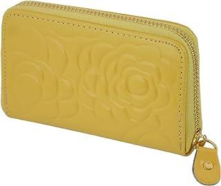 コインケース レディース 花柄 エナメル ラウンドファスナー (6色) 【コインケース 財布 カードケース レ
