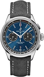 Breitling Premier B01 Chronograph 42 Blue Dial Watch AB0118A61C1X4
