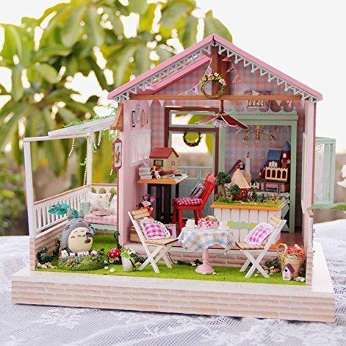 Rylai Wooden Handmade Dollhouse...