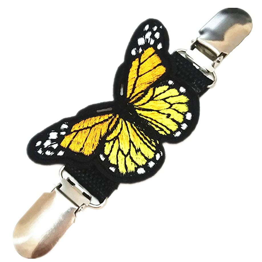 Ever Cute Butterfly Sweater Cardigan Clips Guard Pretty Dress Clothes Waist Cinch Clip Mittens Clip