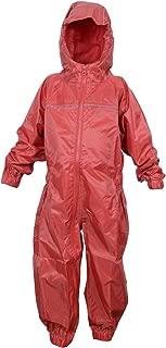 DRY KIDS Little Boys' Waterproof Rainsuit 5-6 Years Bright Red