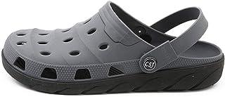 COOPCUP Zuecos para hombre, zapatos de jardín, EVA mules sin cordones, transpirables, sandalias de playa de agua, ligeras,...