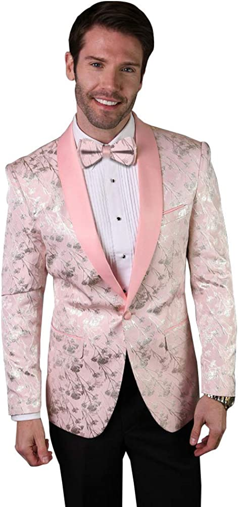 Statement Tailored Fit Fancy Dinner Jacket Tuxedo Blazer