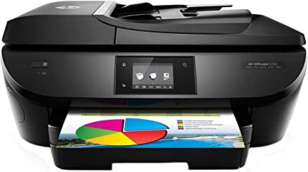 $99 Get HP OfficeJet 5740 Wireless All-in-One Photo Printer with Mobile Printing, Instant Ink ready (Renewed)