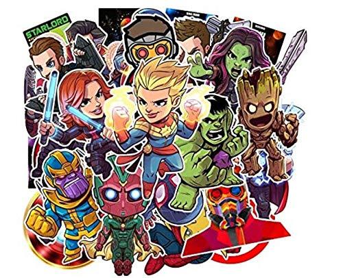 votgl stickersAufkleber Comic Cartoon Film Vierkant Aufkleber Kinder Lernspielzeug Computer Skateboard 95 Stks
