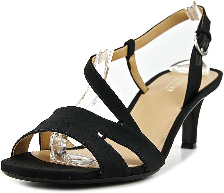 Naturalizer Womens Harmony Glitter Open Toe Dress Sandals