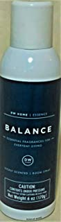 DW Home Richly Scented Balance Scented Air Freshener/Room Spray Fragrance, 6 oz.