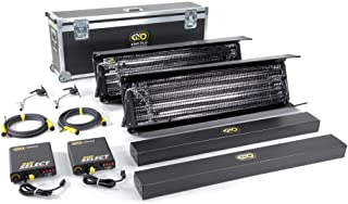 Kino Flo Gaffer Select 4 Bank 2 Light Kit, 120VAC