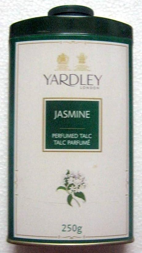 科学マージンフォームYardley London Jasmine Perfumed Talc - 250 g. 808 oz - India