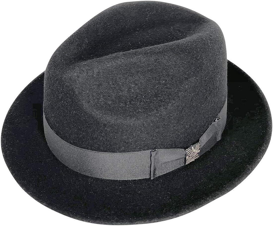 San Andreas Exports, Short Brim Panama Hat Handmade from 100% Oaxacan Wool