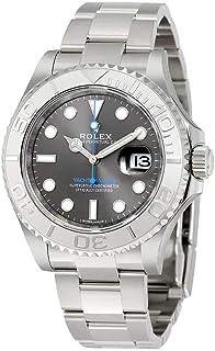 Rolex Yacht-Master 40 Dark Platinum Dial Steel Oyster Mens Watch 116622DPLSO