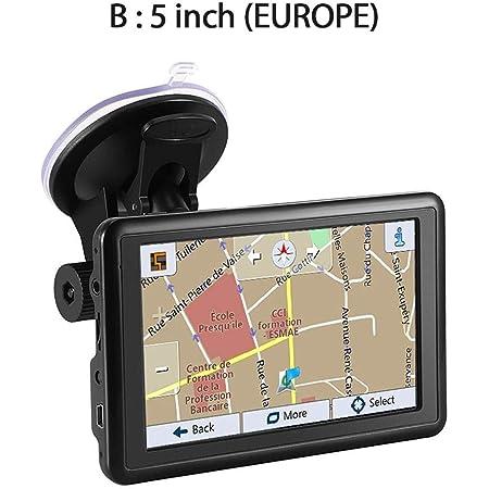 Gps Navi Navigation Für Auto Lkw Pkw 5 Zoll Navigationsgerät Gps Autonavigation Usb Ladestation Autoladegerät Praktischer Fm Transmitter Navigator Gps Vorinstallierte 47 Ländern Von Europa Karten Auto