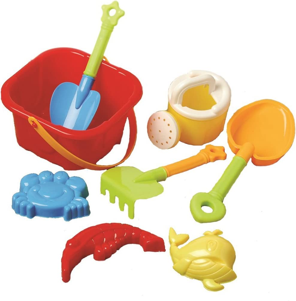 US Toy Beach Bucket Sand Max 50% OFF Castle Play Set 8 2021 autumn and winter new Piece