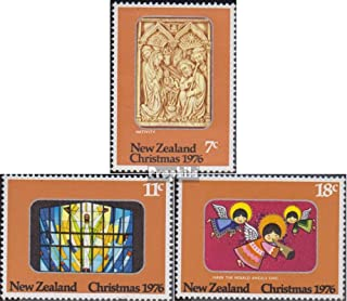 New Zealand 694-696 (Complete Issue) 1976 Christmas (Stamps for Collectors) Christmas