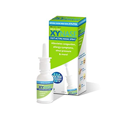 Xylitol Nasal Spray XYNASE (Compare to Xlear) N...