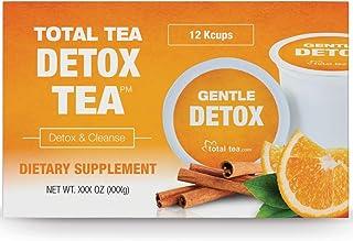 Total Tea Herbal Detox Tea K-Cup - Slimming Herbal Tea, Gentle Cleanse and Detox - Reduce Bloating & Belly Fat, Caffeine F...