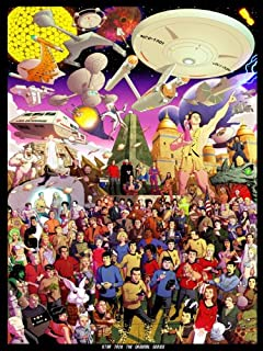 Star Trek The Original Series All Characters 32x24 Print Poster