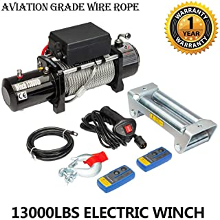 Best winch 6000 lbs 12v dc Reviews