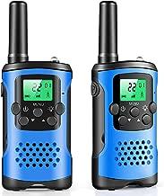 walkie talkies for kids, 22 Channel 2 Way Radio 3 Mile Long Range Kids Toys & Handheld Kids Walkie Talkies, Best Gifts & Top Toys for Boy & Girls Age 3 4 5 6 7 8 9 For Outdoor Adventure Game, Boy Tous