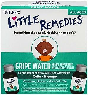 Little Remedies Gripe Water   Safe for Newborns   2 Bottles   2 FL OZ
