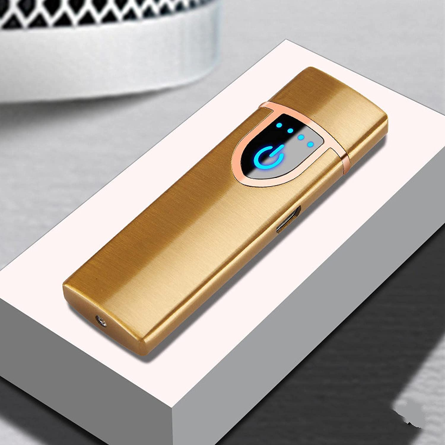 Electric Lighter arc USB Electronic L Cigarette Spring new Max 41% OFF work one after another