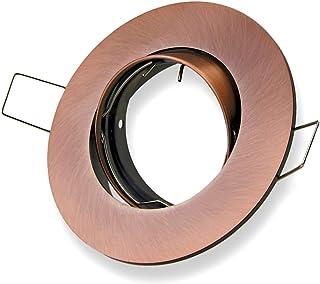Einbauring Durchmesser 110mm Alu silber Einbaurahmen Einbaustrahler Einbauspots