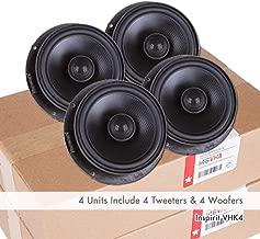 VW OE Upgrade Speakers Kit VHK4 Retrofit Beetle97-10 Golf MK6/MK7/Alltrack/SportWagen15-19 Jetta11-19 Passat11-19