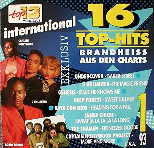 Various - 16 Top-Hits Aus Den Charts 1/93 - Top 13 Music-Club - 71 318 0