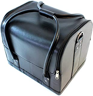 PROFESSIONAL COSMETIC BAG ORGANIZER, MAKEUP STORAGE WITH SLING FOR EASY HANDLING. ELEGANT DESIGN AND LIGHTWEIGHT. TRAIN CA...