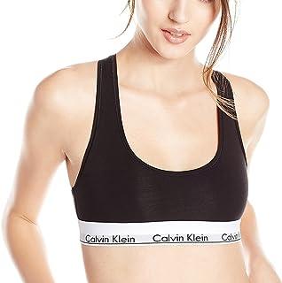 (カルバンクライン) Calvin Klein レディース ブラレット MODERN COTTON スポーツブラ [F3785] ブラック [001]
