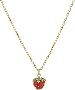 Marc Jacobs - Something Special Strawberry Pendant Necklace
