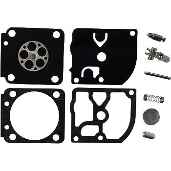 Carburetor Repair//Rebuild Kit Replaces ZAMA RB-91 for Stihl MS191T ZAMA C1Q-S59 Pack of 2