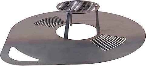 RM Design Grillplatte Bratplatte Feuerplatte Grillzubehör Feuerstelle 80 cm Durchmesser
