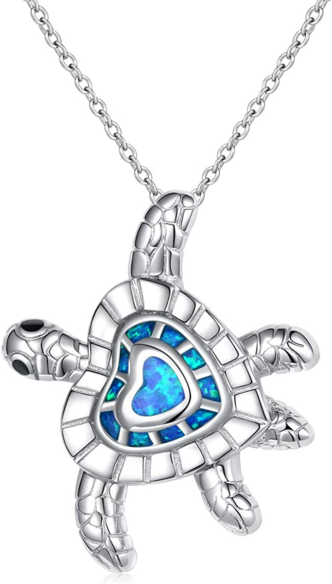 Sterling Silver Forever Love Animal Necklace W for Heart Atlanta Import Mall Pendant