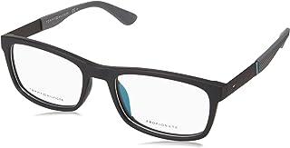 Tommy Hilfiger Th1522 Monturas De Gafas Para Hombre, Negro/Mttblack, 54 Mm