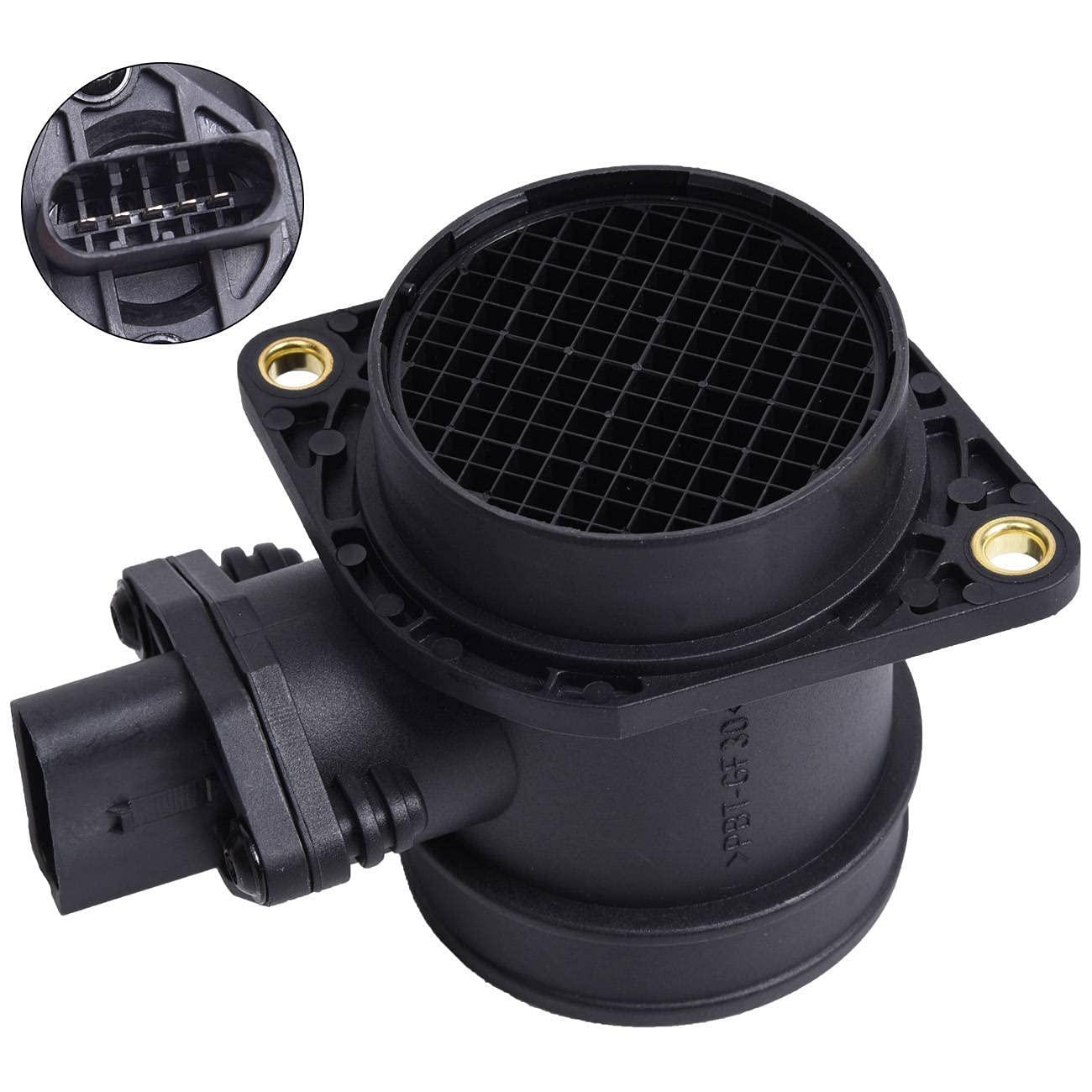 MAF Mass Air Flow Meter San Antonio Mall Sensor with Compatible mart Volkswagen A Golf