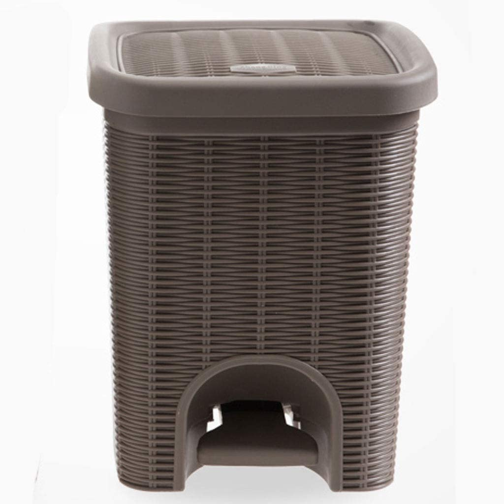 zongshengshop Indoor Max 79% OFF Trash can Fixed price for sale Can Plastic Small Rectangle