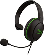HyperX CloudX Chat Headset – Official Xbox Licensed for Xbox One, Clear Voice Chat, 40mm Drivers, Noise-Cancellation Microphone, Pop Filter, in-Line Audio Controls, Lightweight, Reversible