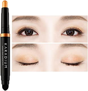 KARADIUM Shining Pearl Smudging Eye Shadow Stick, 1.4 g, 3 Orange Marmalade