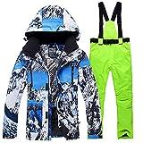 LQCN Snowboardjacke, Skianzug, Herren, winddicht,...
