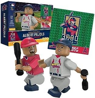 Albert Pujols 3000 Hit Collection St. Louis Cardinals OYO Sports Toys Minifigure