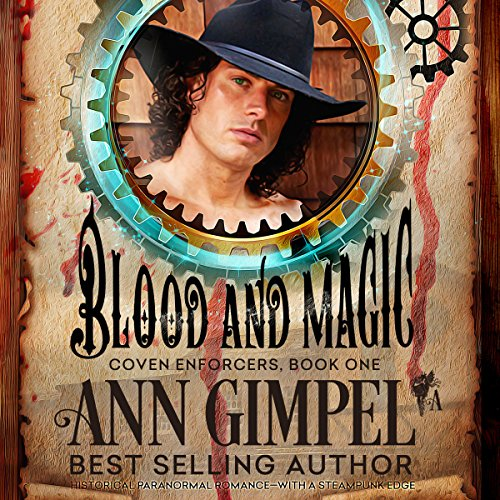 Blood and Magic audiobook cover art