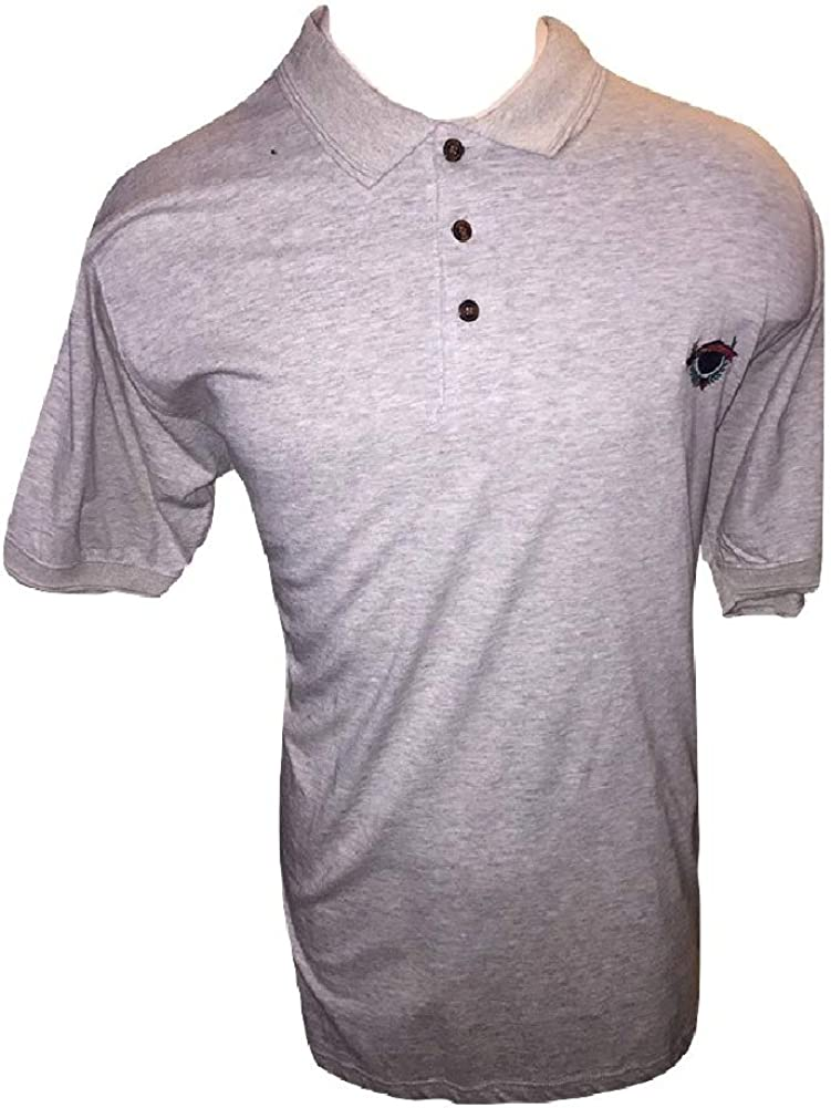 Tower Bay Big and Tall 2X 100% Cotton Short Sleeve Grey Henley Jersey 2XB