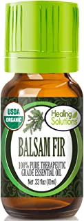 Organic Balsam Fir Essential Oil (100% Pure - USDA Certified Organic) Best Therapeutic Grade Essential Oil - 10ml