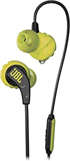 JBL Run Endurance Series Earphones, Lime, Small