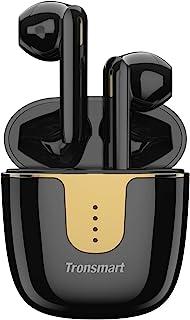 Tronsmart Onyx Ace Cuffie Bluetooth 5.0, Auricolari Senza Fili con 4 Microfoni, Qualcomm Chip QCC3020, Qualità Audio Aptx ...