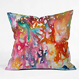 """Deny Designs Stephanie Corfee Fast and Loose Indoor Throw Pillow, 16"""" x 16"""""""