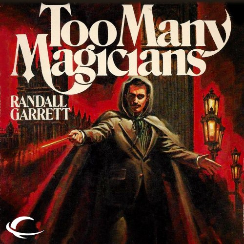 Too Many Magicians audiobook cover art