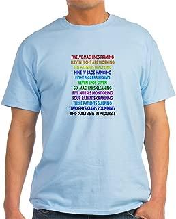 CafePress Dialysis 12 Days of Christmas.PNG Cotton T-Shirt
