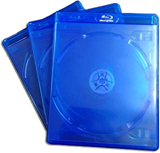 (KGシリーズ) ブルーレイケース 6枚収納 3PACK / クリアブルー / 【22mmサイズ】 【ロゴ:Blu-rayDisc】 【6枚収納】
